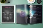 酷炫杂志画册模板