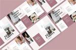 婚礼折页册子模板