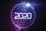 新年2020主题矢量