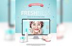 化妆品促销海报4