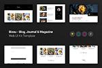 博客网站设计UI
