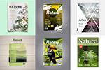 自然杂志书籍封面