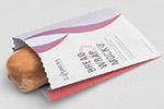 面包纸袋样机