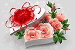 情人节礼物元素