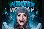 冬季活动传单海报