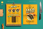 墨西哥菜单