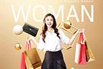 时尚商业美女海报2
