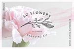 水彩花卉品牌Logo