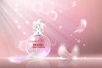 羽毛珍珠香水广告