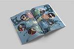 画廊杂志设计模板