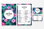 花卉主题餐厅菜单
