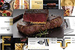 餐饮行业PPT模板