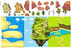 游戏关卡地图