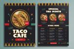 墨西哥菜单菜谱
