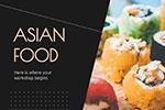 亚洲食品展示PPT