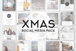 圣诞时尚社交广告