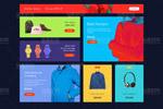 时尚电商网页模板