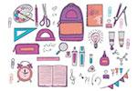 教育元素图案
