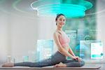 智能科技健身海报