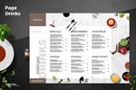 高级餐厅菜谱