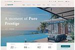 奢侈酒店网站模板