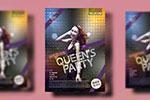 时尚女王派对海报