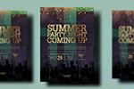 夏季之夜派对海报