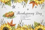 秋季感恩节元素
