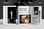 西餐厅菜谱画册