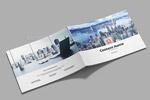 简约企业画册