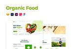 有机食品网站模板