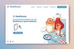 医疗主题网页设计