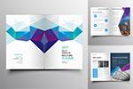 低多边形元素科技画册