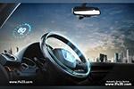 自动驾驶系统海报