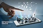 科技城市网络服务海报