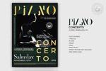 钢琴招生宣传海报