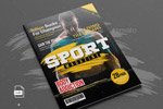 运动健身杂志模板