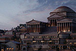 古罗马风游戏城市建筑