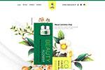 美容化妆品促销网页