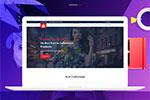 时尚电子商务网站模板