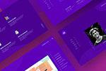 设计师网站模板