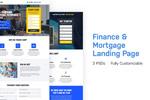 金融银行网站模板