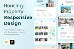 住宅网站设计模板