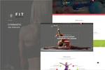 健身瑜伽网站模板