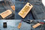 牛仔裤标签样机