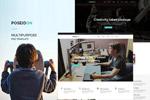简约网站设计模板
