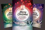 绚丽圣诞主题海报