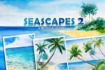 海景水彩插图2