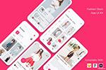 时尚电商App模板