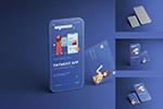 手机产品与卡片样机